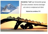 Att tänka på vid val av snösko - RAILS   ATT OBSERVERA  Beställning kan inte göras här.
