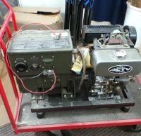 Vagn + Kubota + strömgenerator